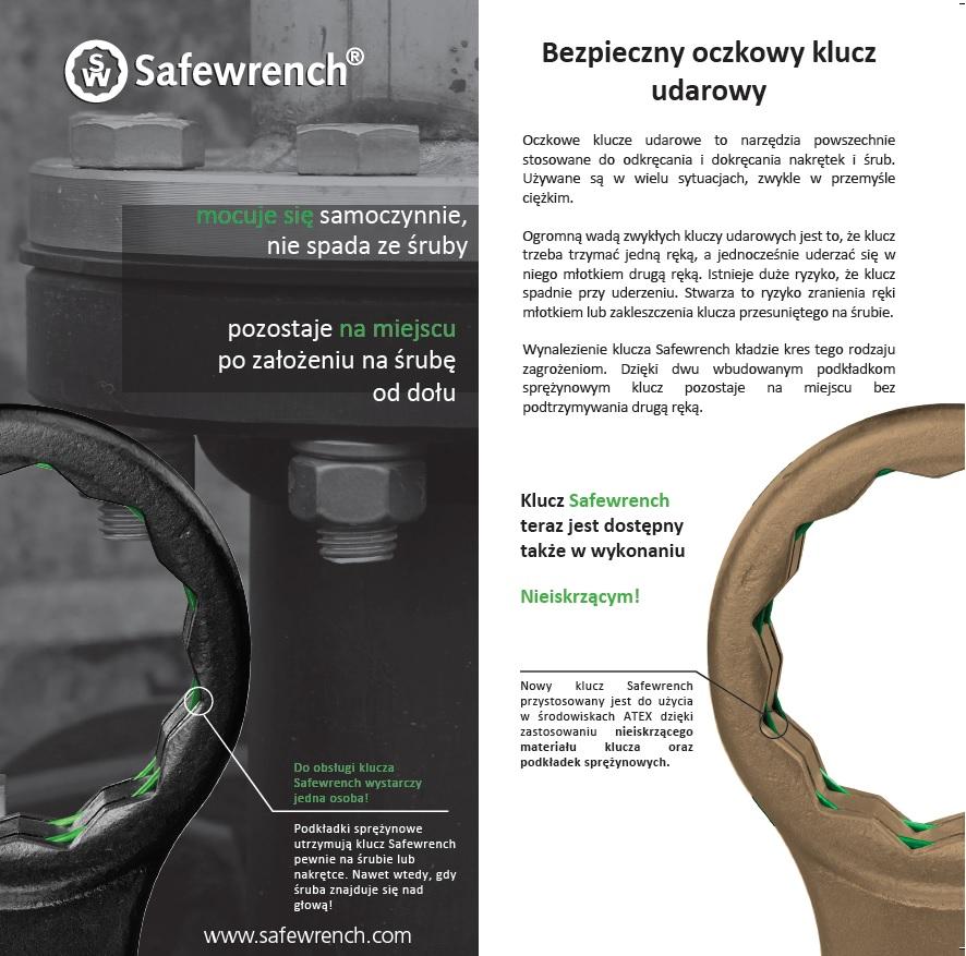 Bezpieczny oczkowy klucz udarowy